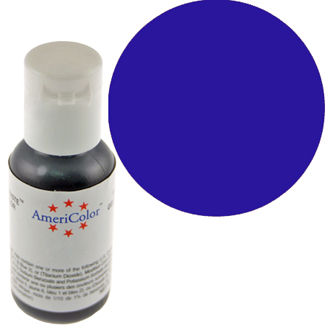 Navy Blue Americolor® Soft Gel Paste Food Color