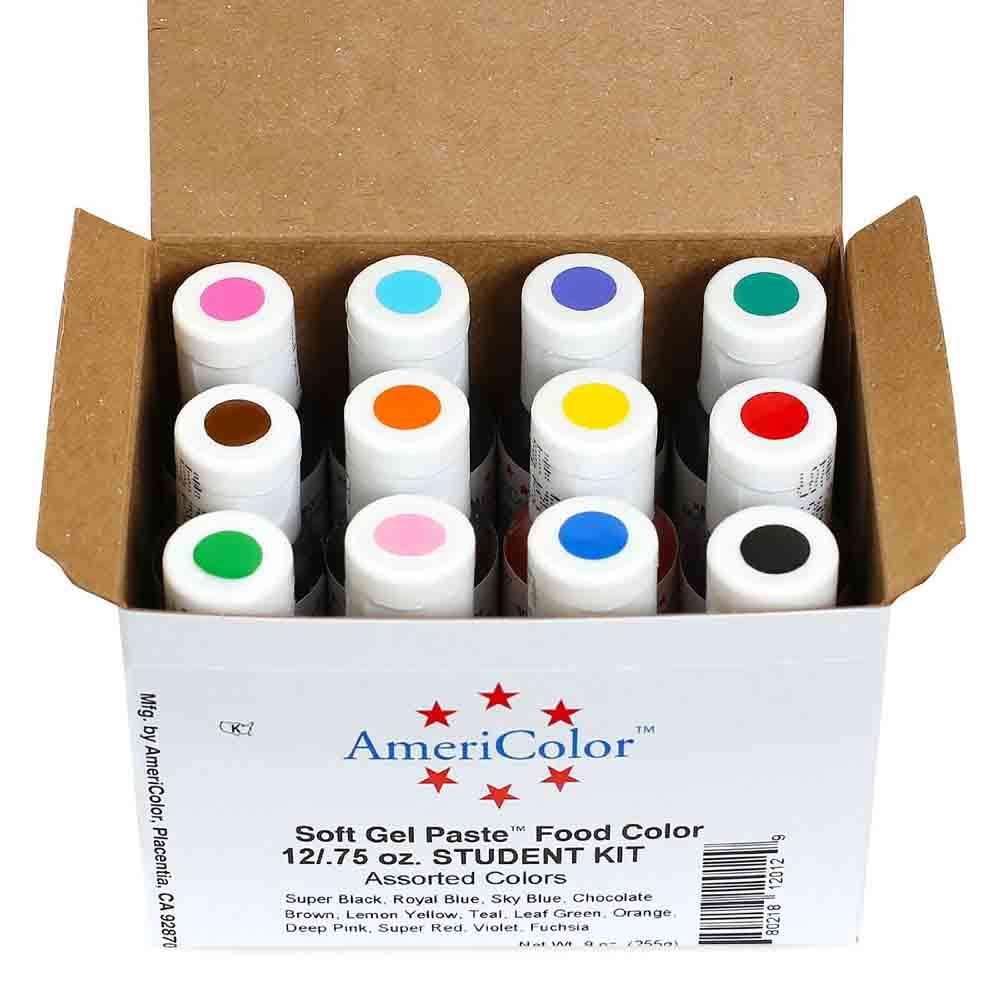 Americolor gel color chart