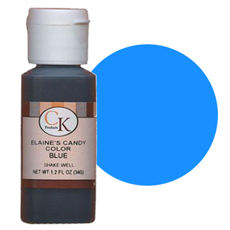 Elaine's Liquid Blue Candy Color