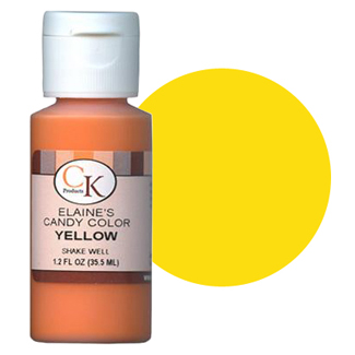 CK (Elaine's) Liquid  Yellow Candy Color