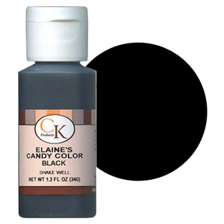 Elaine's Liquid Black Candy Color