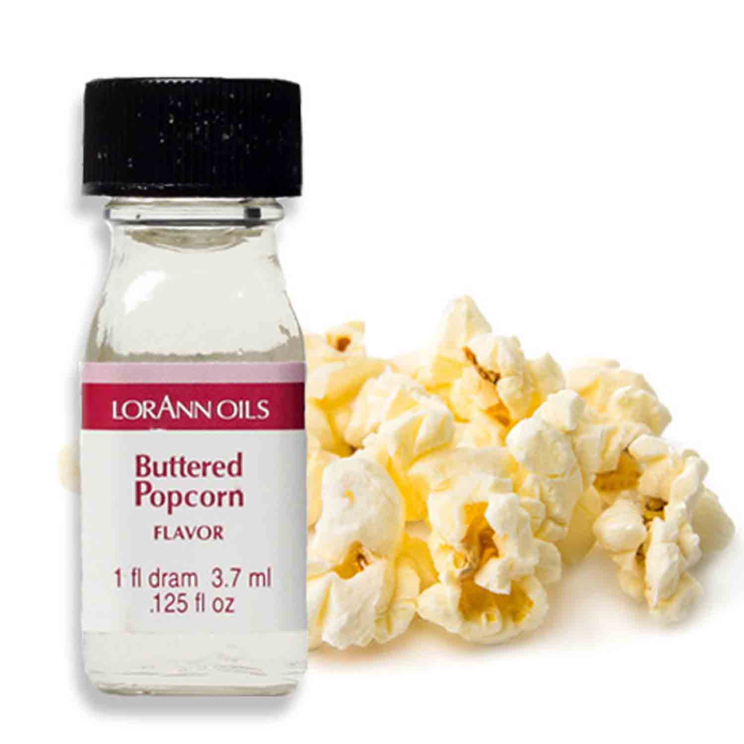 Buttered Popcorn Super-Strength Flavor