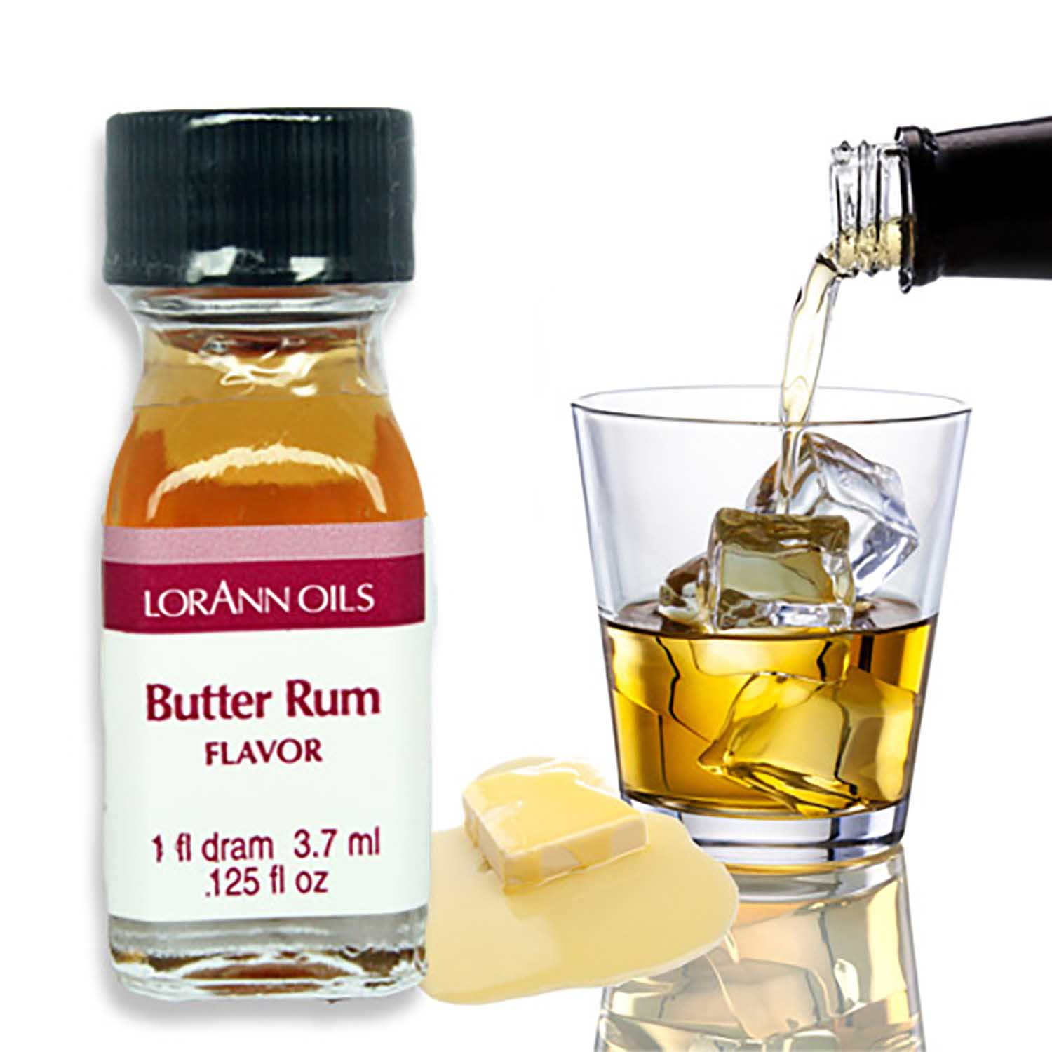 Butter Rum Super-Strength Flavor