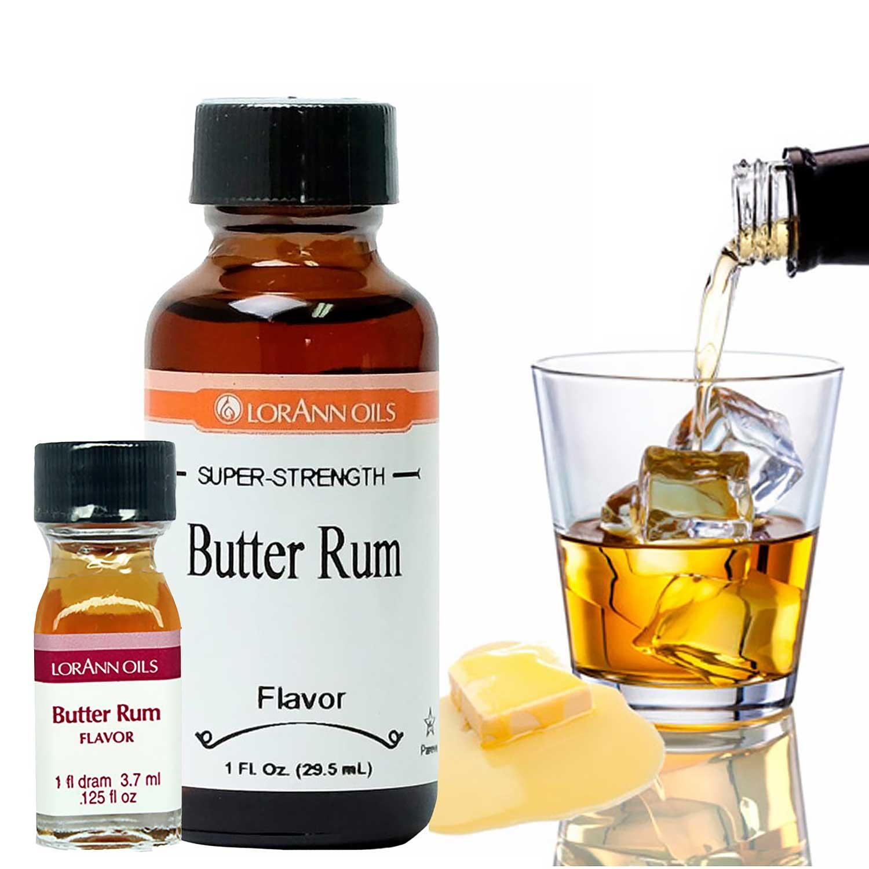 Butter Rum LorAnn Super-Strength Flavor