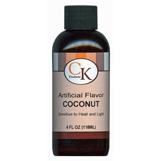Coconut Flavor 4 oz.