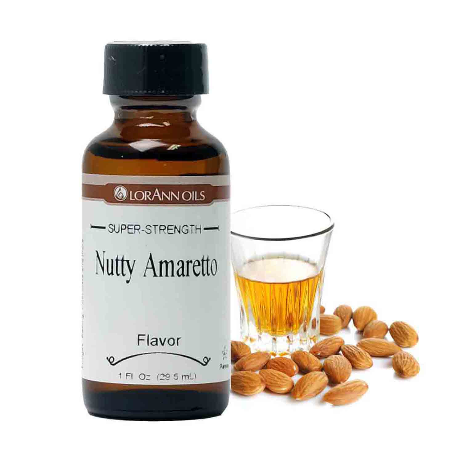 Nutty Amaretto Super-Strength Flavor