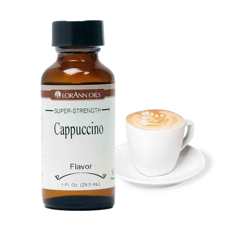 Cappuccino LorAnn Super-Strength Flavor