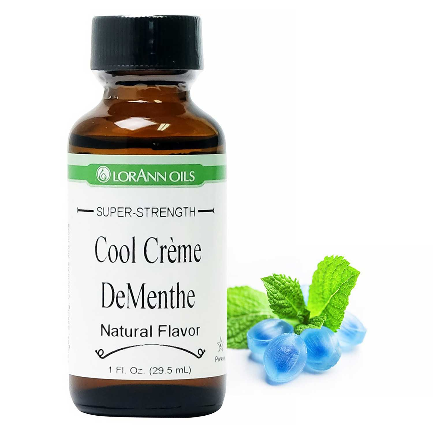 Cool Crème DeMenthe LorAnn Super-Strength Flavor