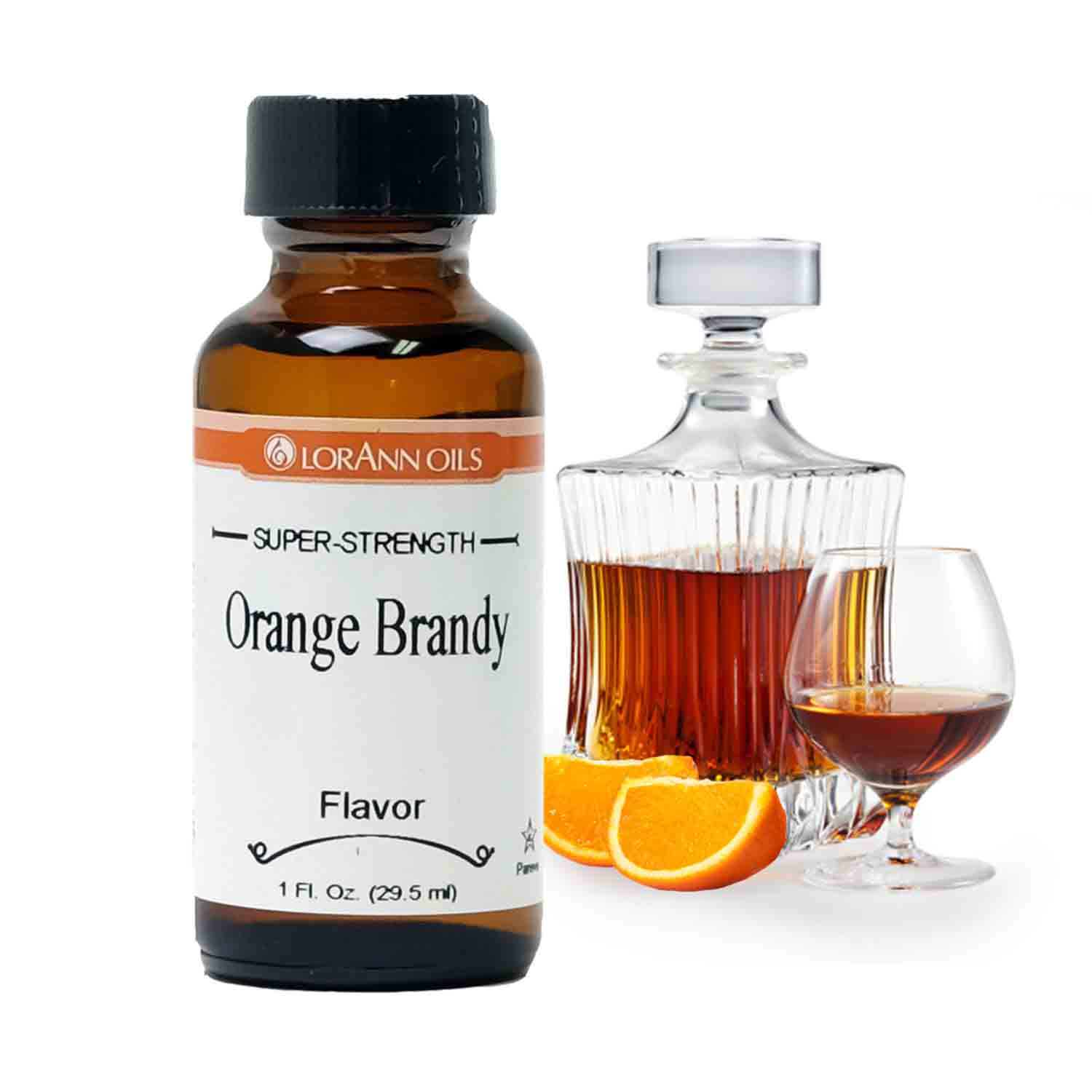 Orange Brandy LorAnn Super-Strength Flavor