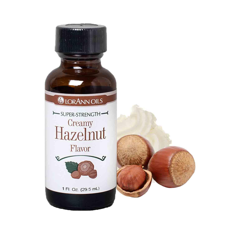 Creamy Hazelnut LorAnn Super-Strength Flavor
