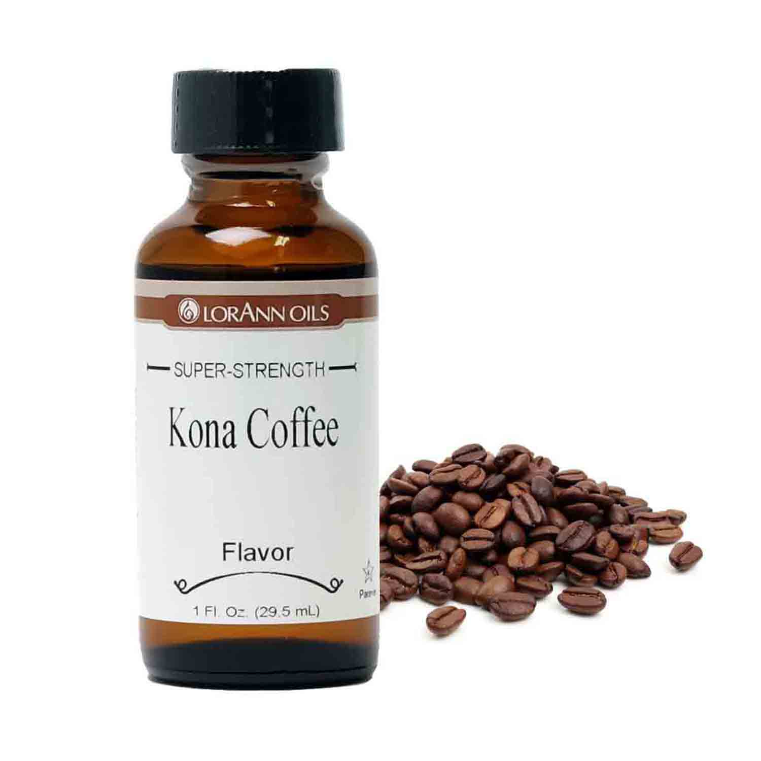 Kona Coffee Super-Strength Flavor