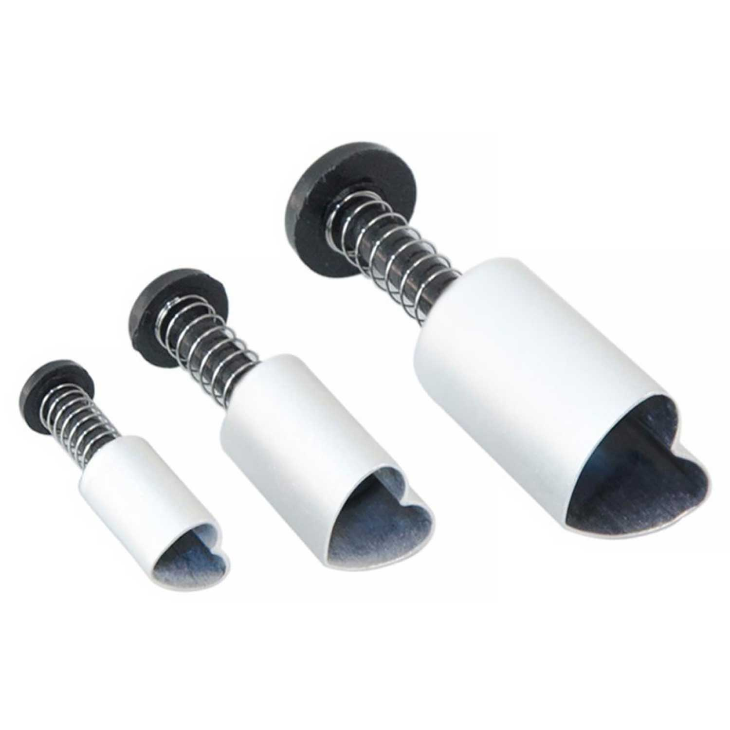 PME Heart Plunger Cutters Set