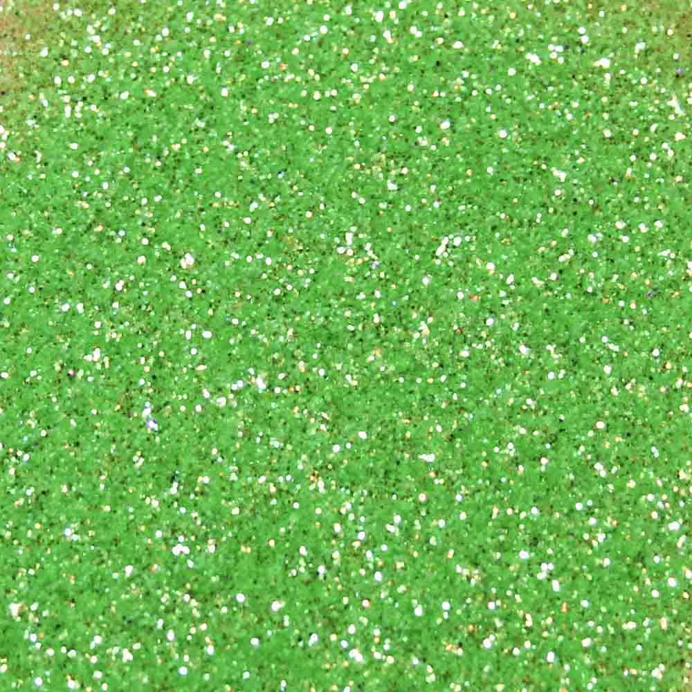 Heat Green Disco Glitter Dust