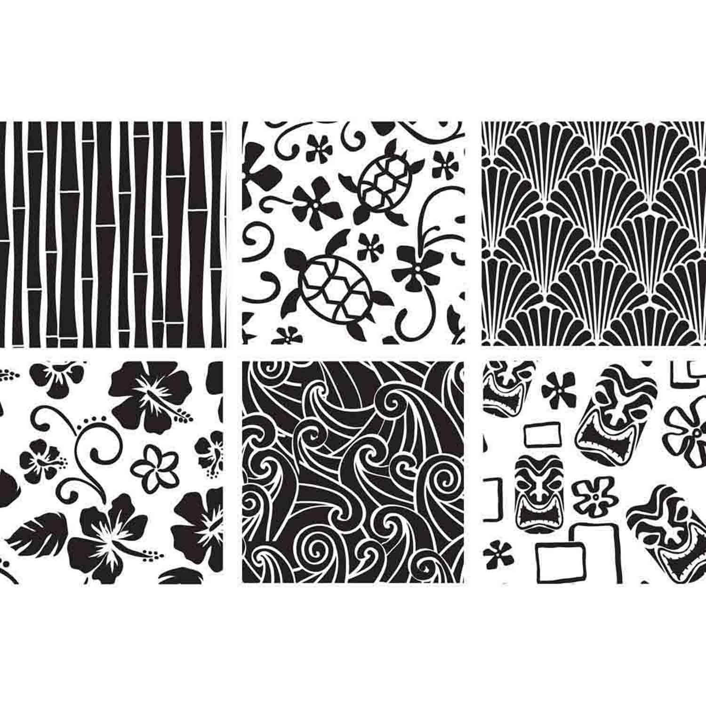 Hawaiian Texture Sheet Set