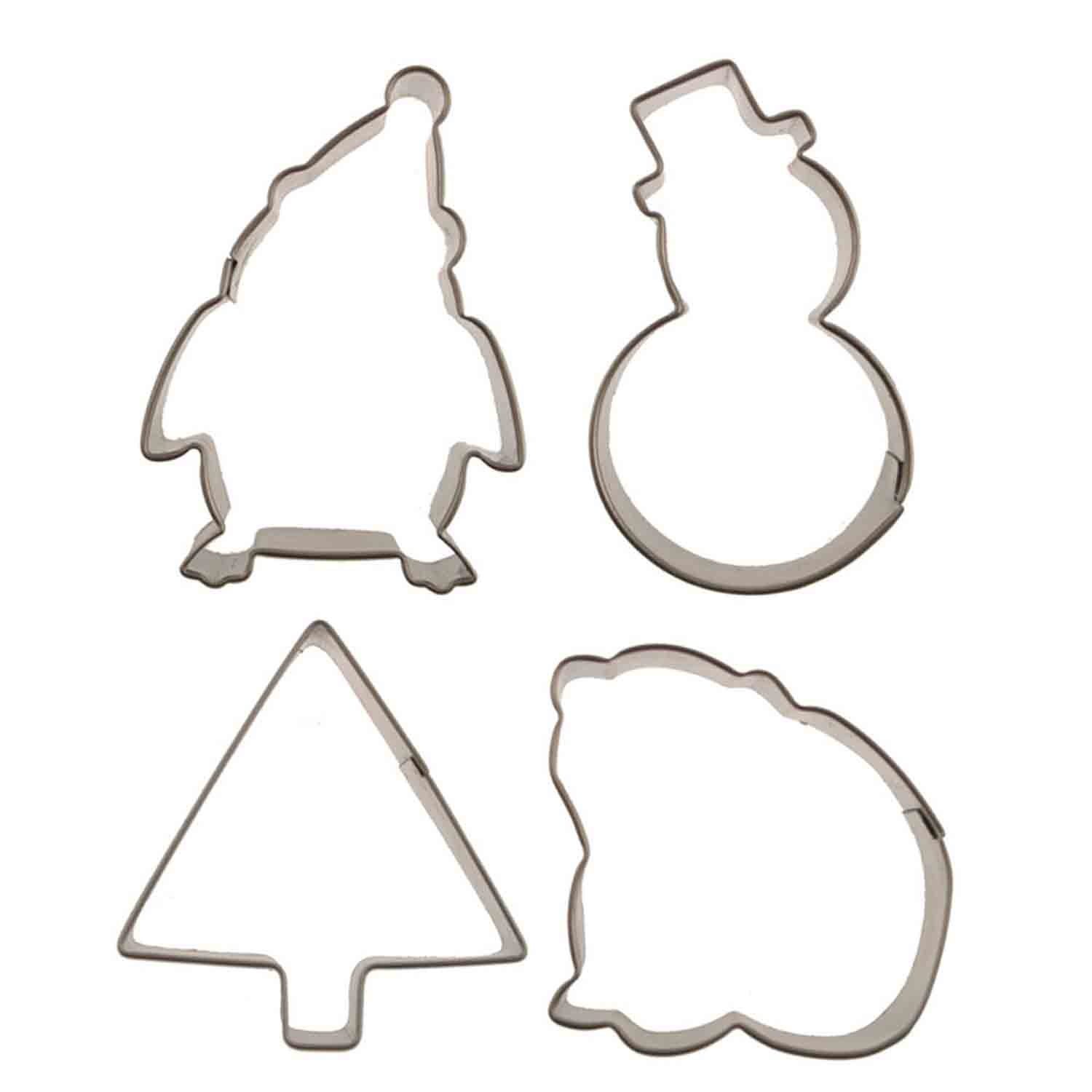 Winter Cutie Cupcake Cookie Cutters Set