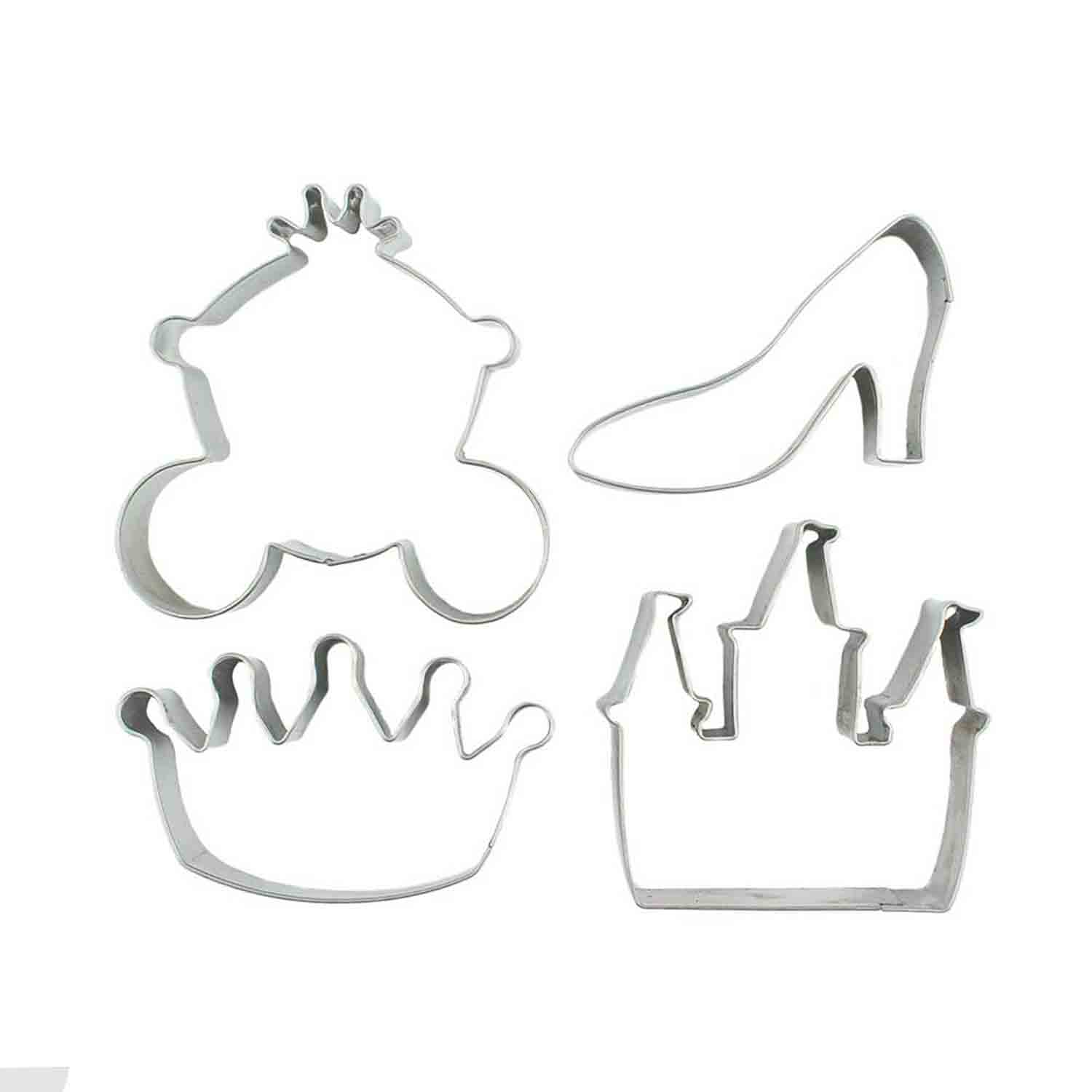 Princess Cutie Cupcake Cutter Set