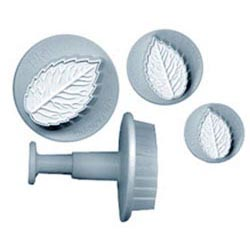 Rose Leaf Set PME Plunger Cutter/Embossers