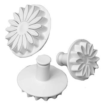 Small Sunflower, Gerbera or Daisy Plunger Cutter