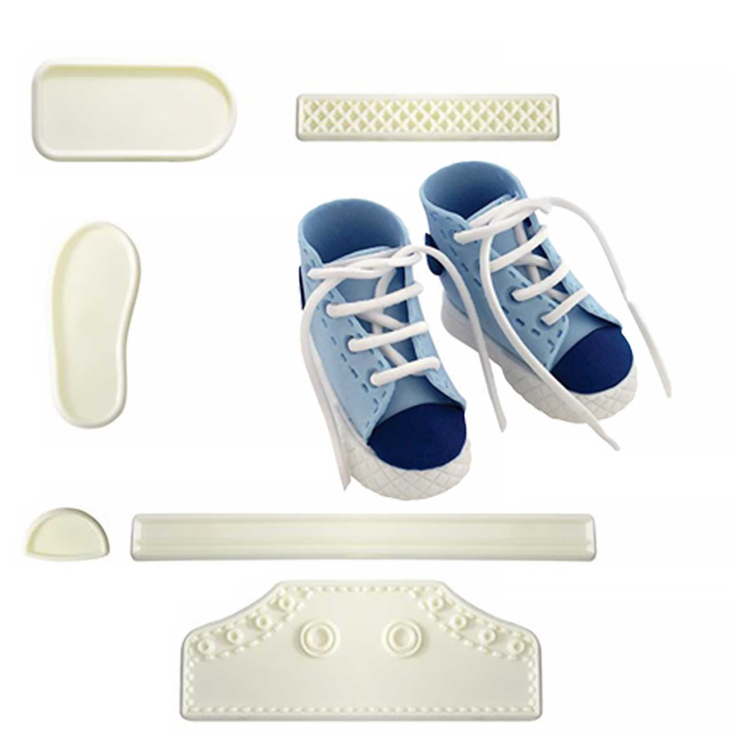 JEM High Cut Sneakers Set
