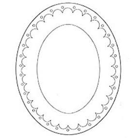 Jem Cutter-Large Oval Frame