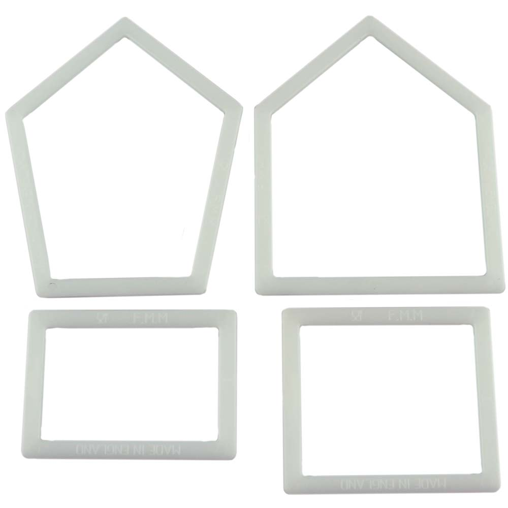 Bird House Gum Paste Cutter Set