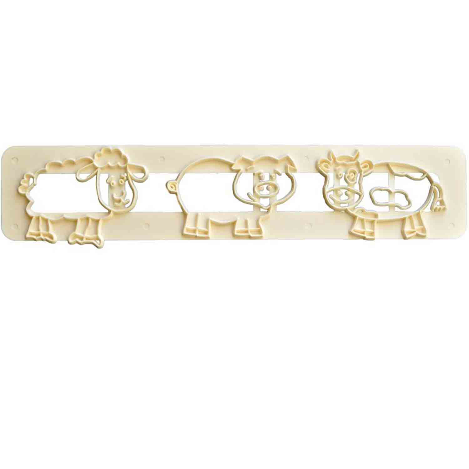 Cute Farm Animals Cutter Set