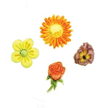 Flowers Embosser Set