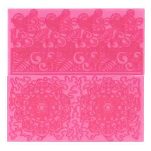 Filigree Lace Impression Mat Set