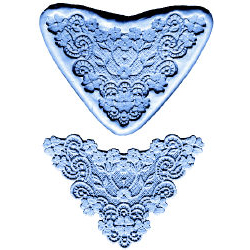 Flower Lace Border-Silicone Mold