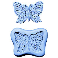 Butterfly Lace-Silicone Mold-Medium