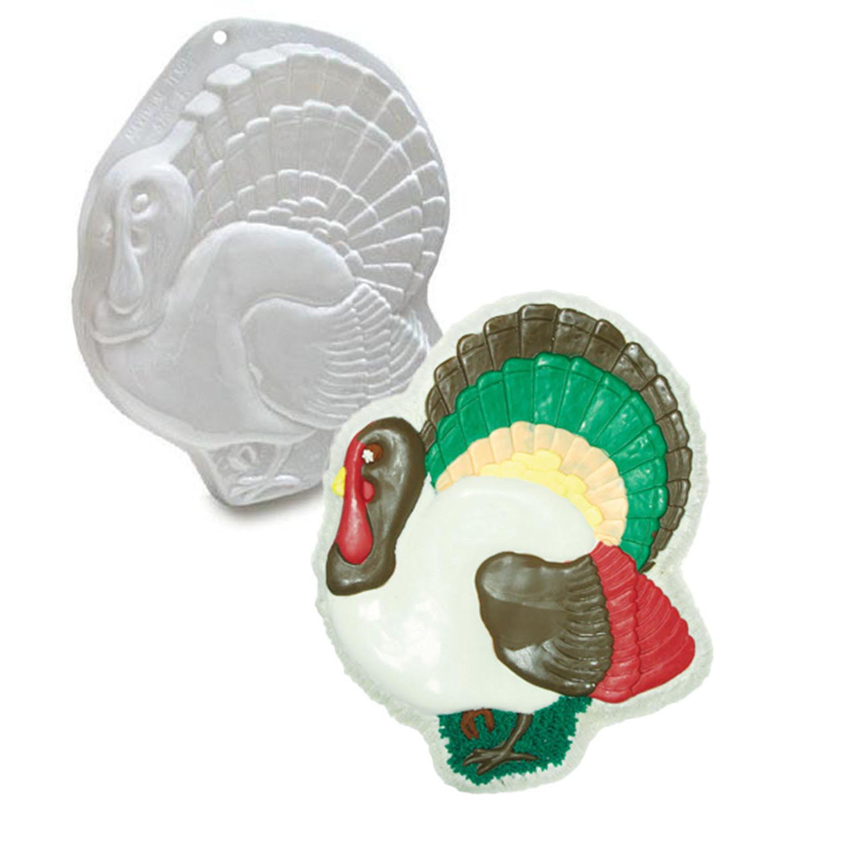 Turkey Pantastic Plastic Cake Pan