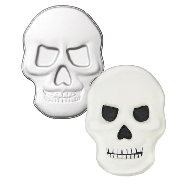 Skull Pantastic Plastic Cake Pan
