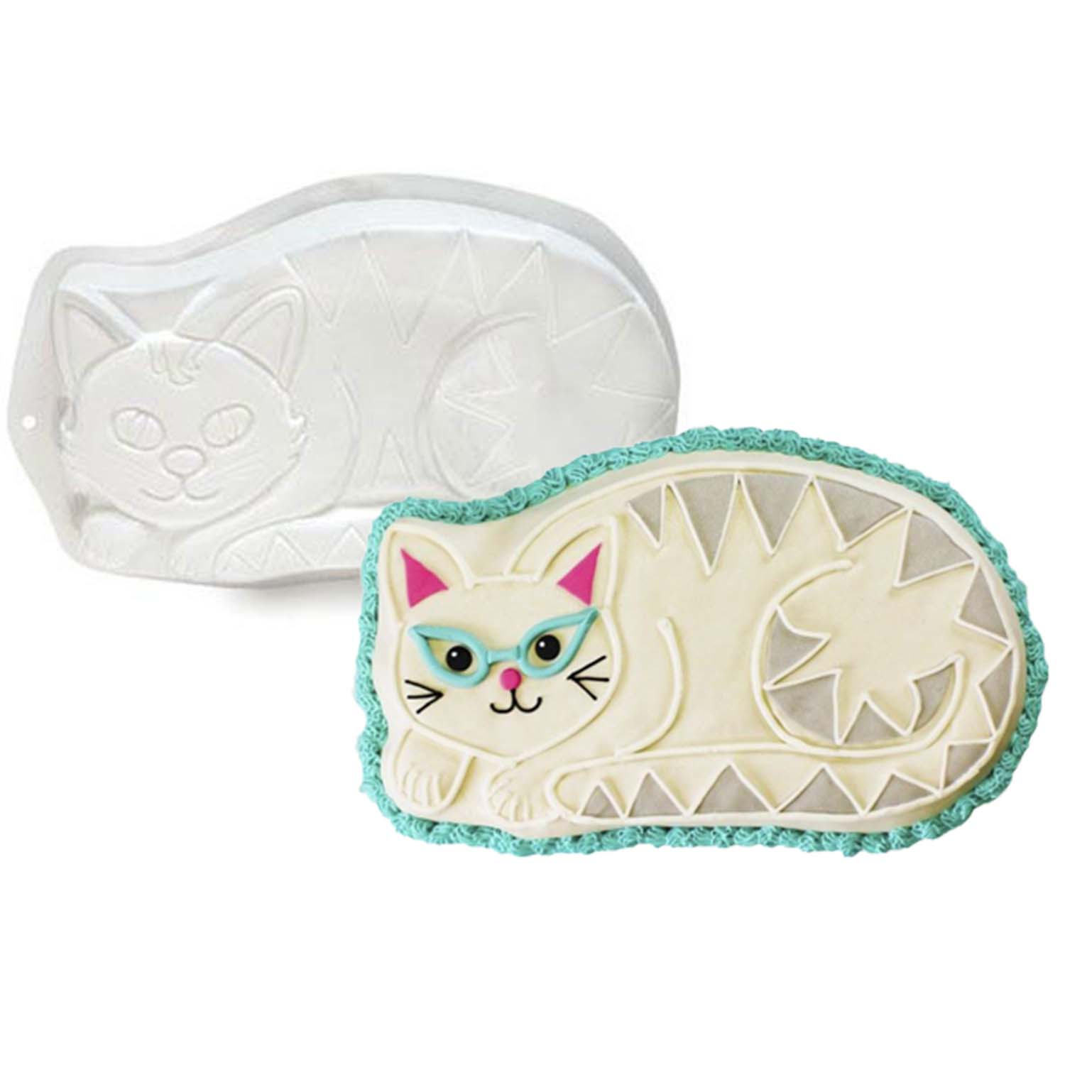 Cat Pantastic Plastic Cake Pan