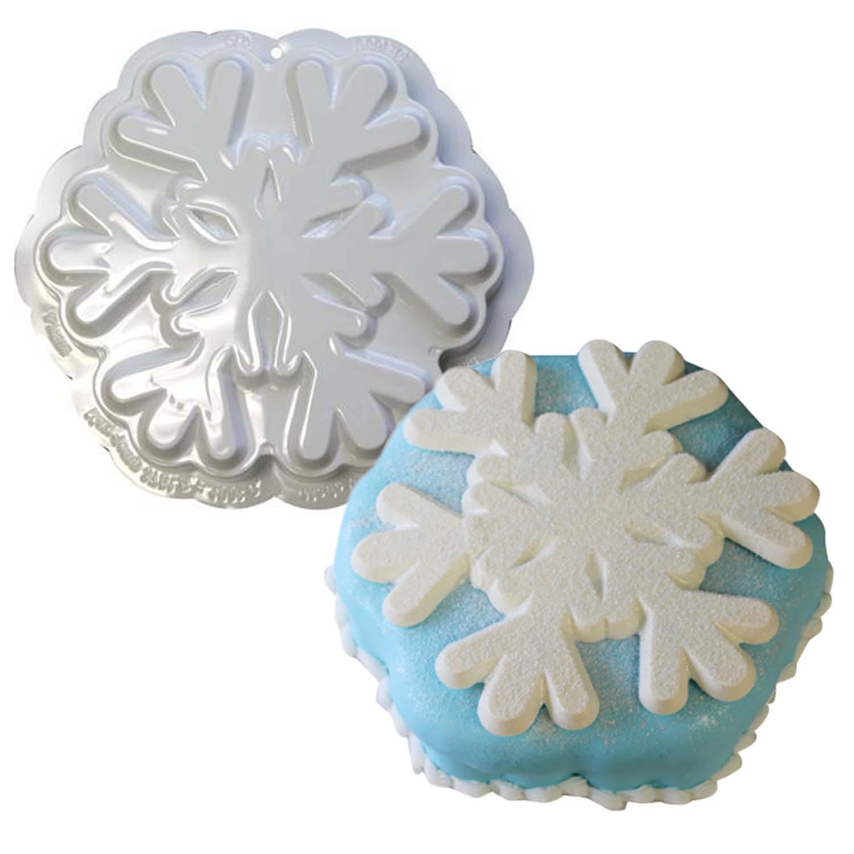 Snowflake Pantastic Plastic Cake Pan