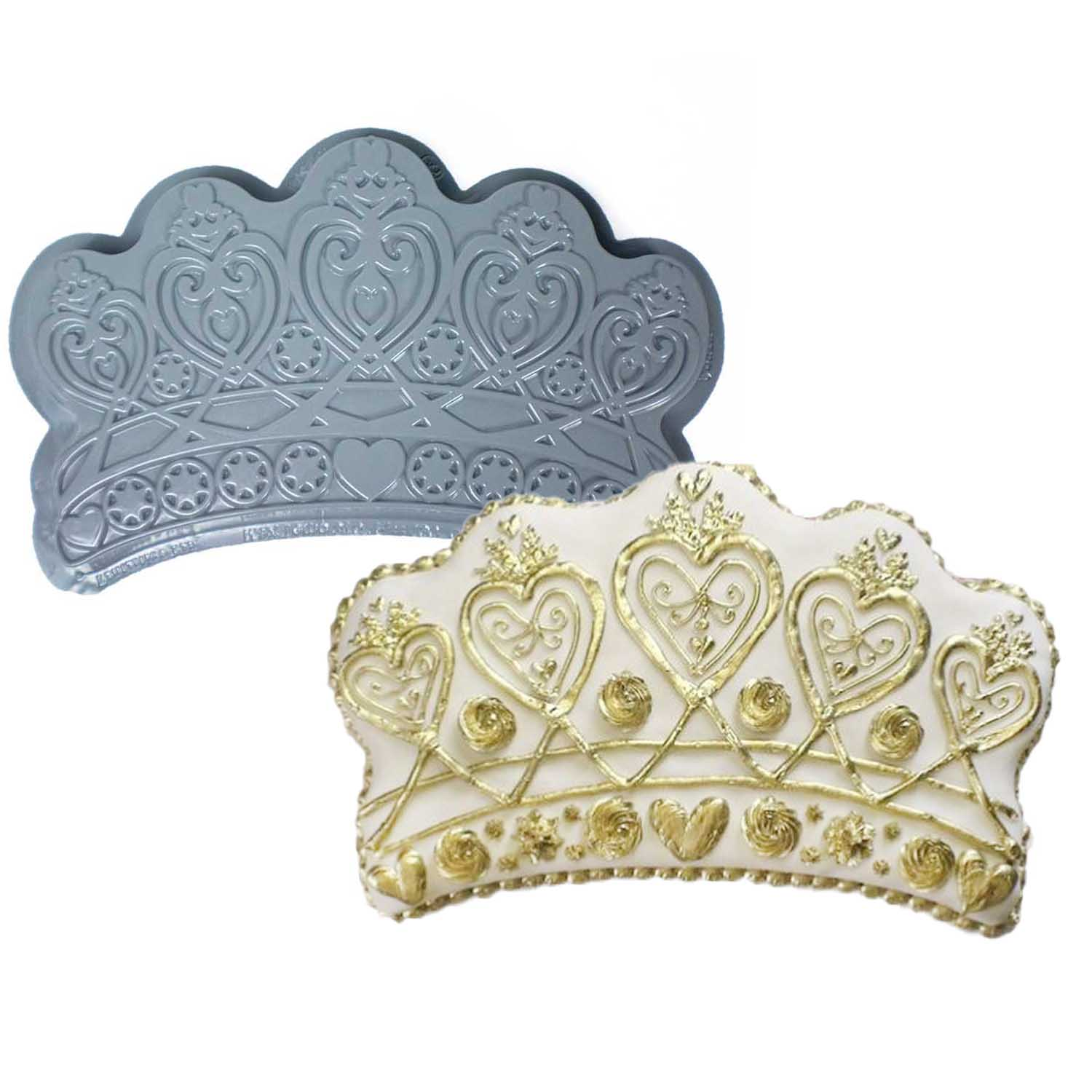 Crown Pantastic Plastic Cake Pan