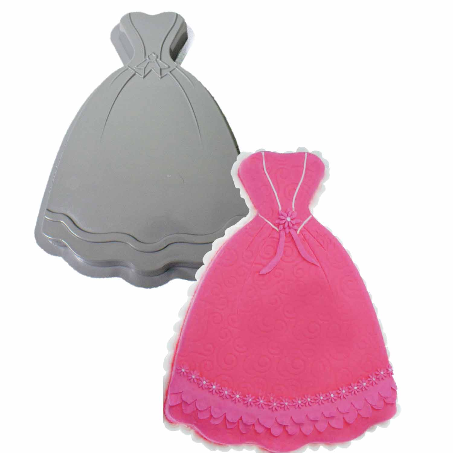 Dress Pantastic Plastic Cake Pan