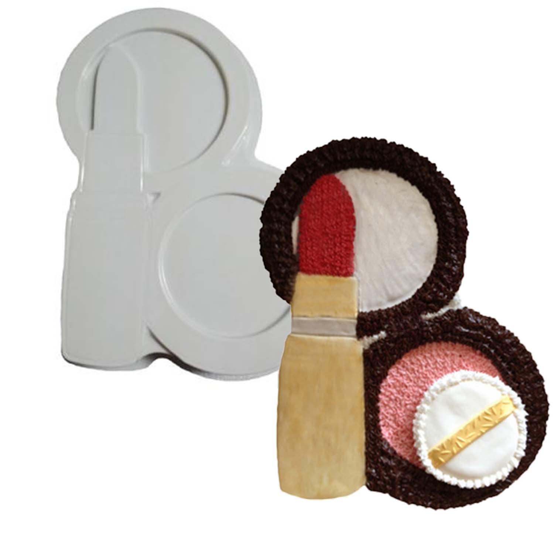 Lipstick/Compact Pantastic Plastic Cake Pan