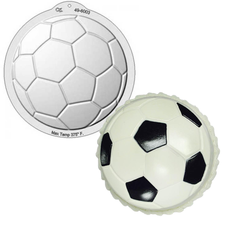 Soccer Ball Pantastic Plastic Cake Pan