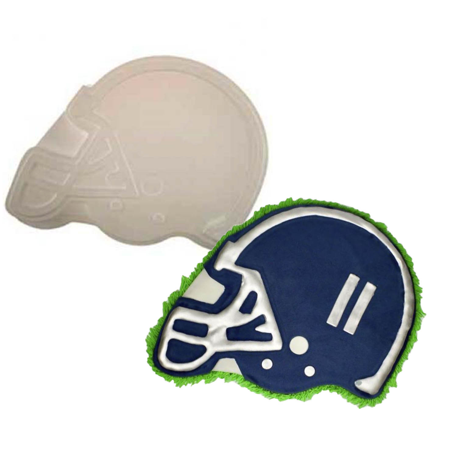 Football Helmet Pantastic Plastic Cake Pan