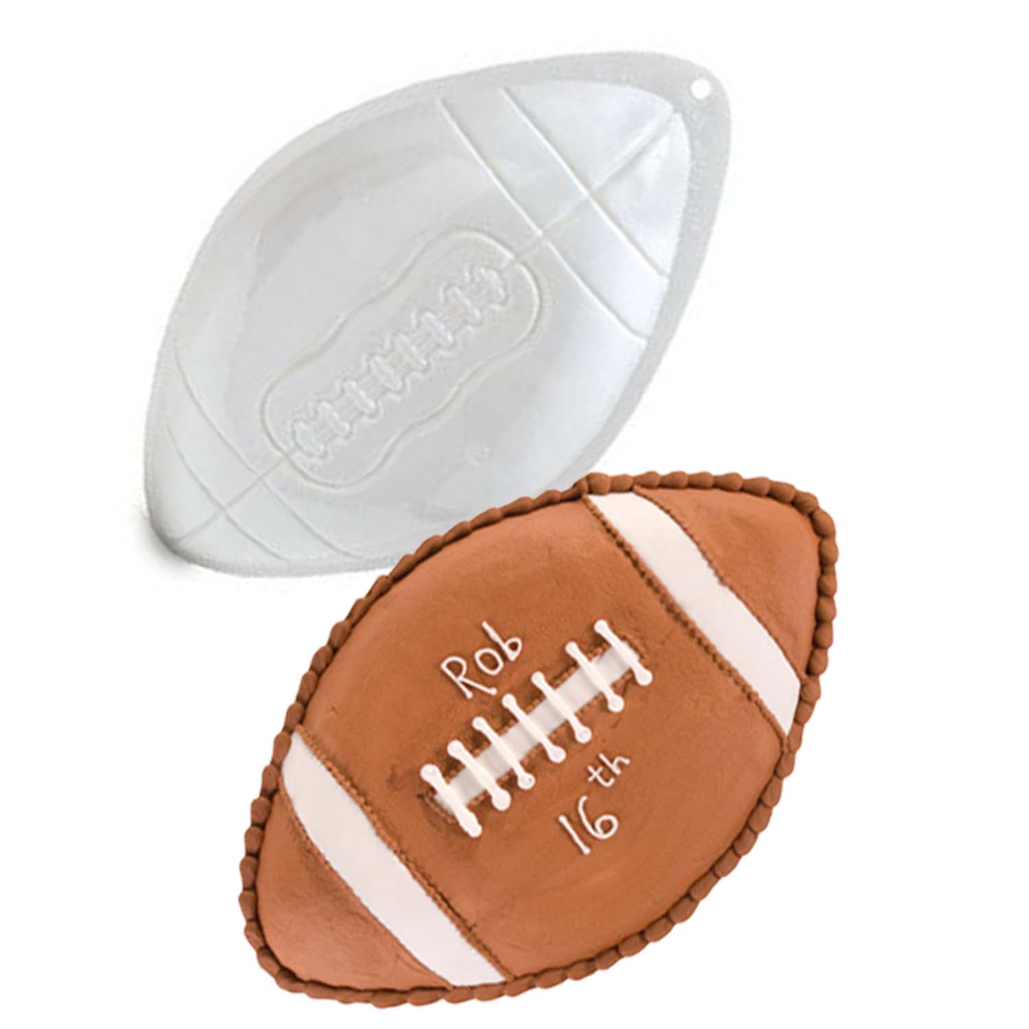 Micro Football Pantastic Plastic Cake Pan