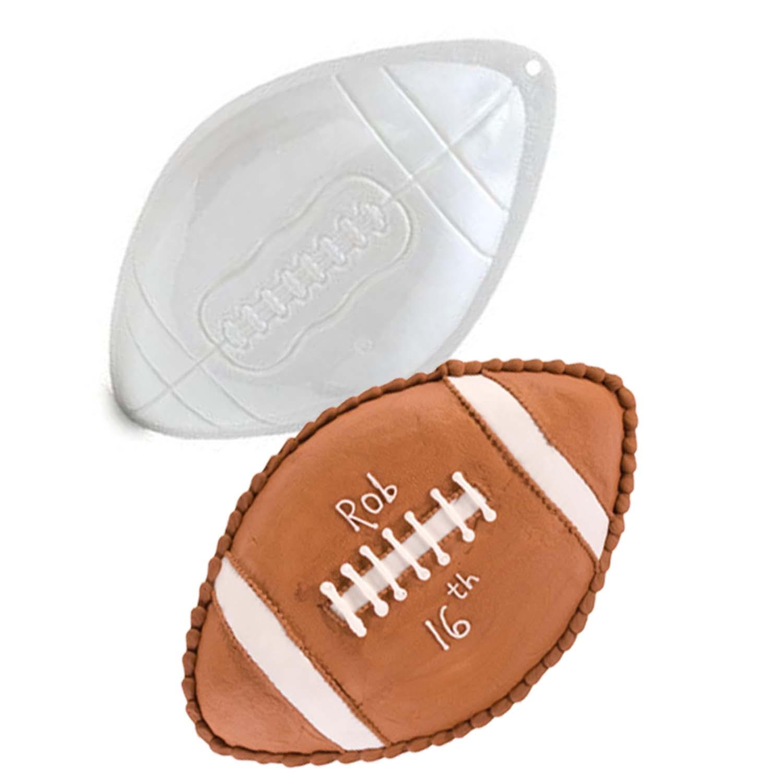 Micro Football Pantastic Plastic Cake Pan