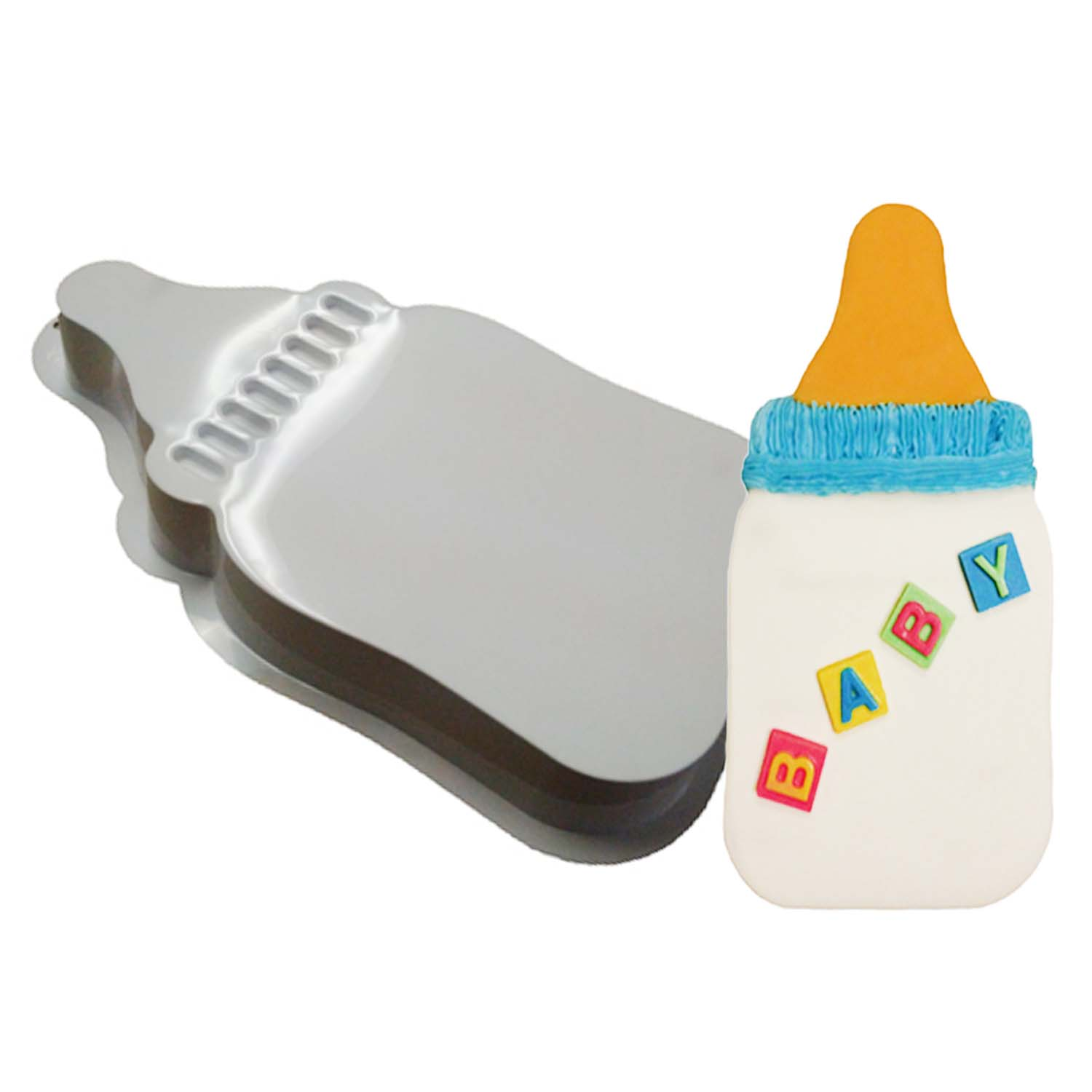 Baby Bottle Pantastic Plastic Cake Pan