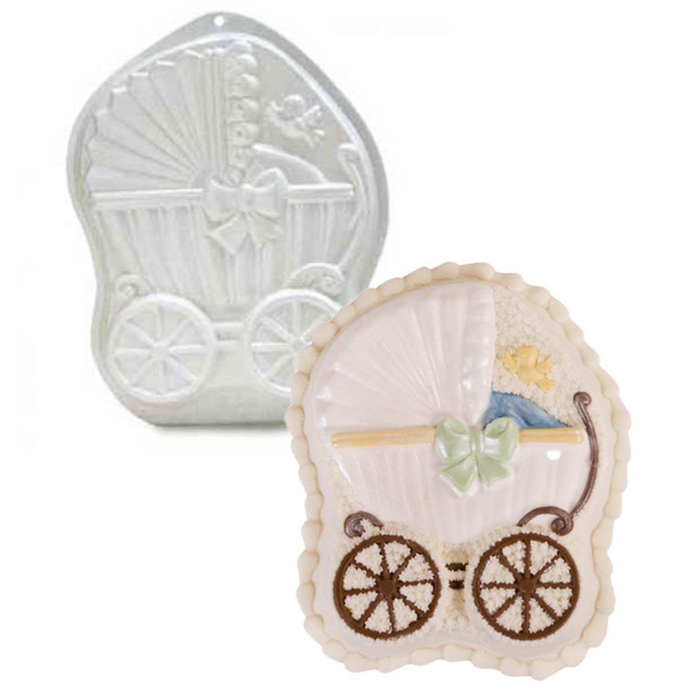 Baby Buggy Pantastic Plastic Cake Pan