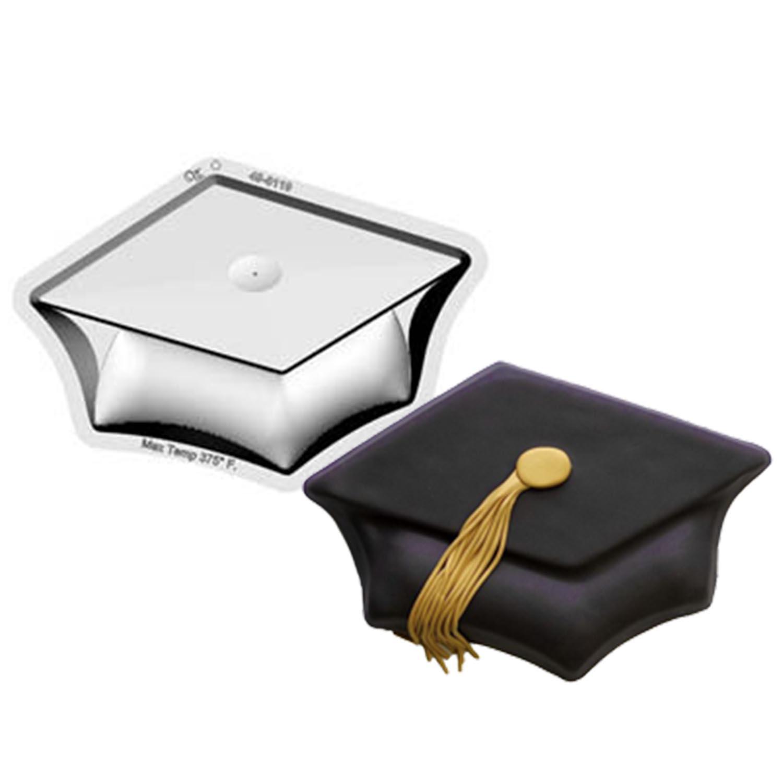 Graduation Cap Pantastic Plastic Cake Pan