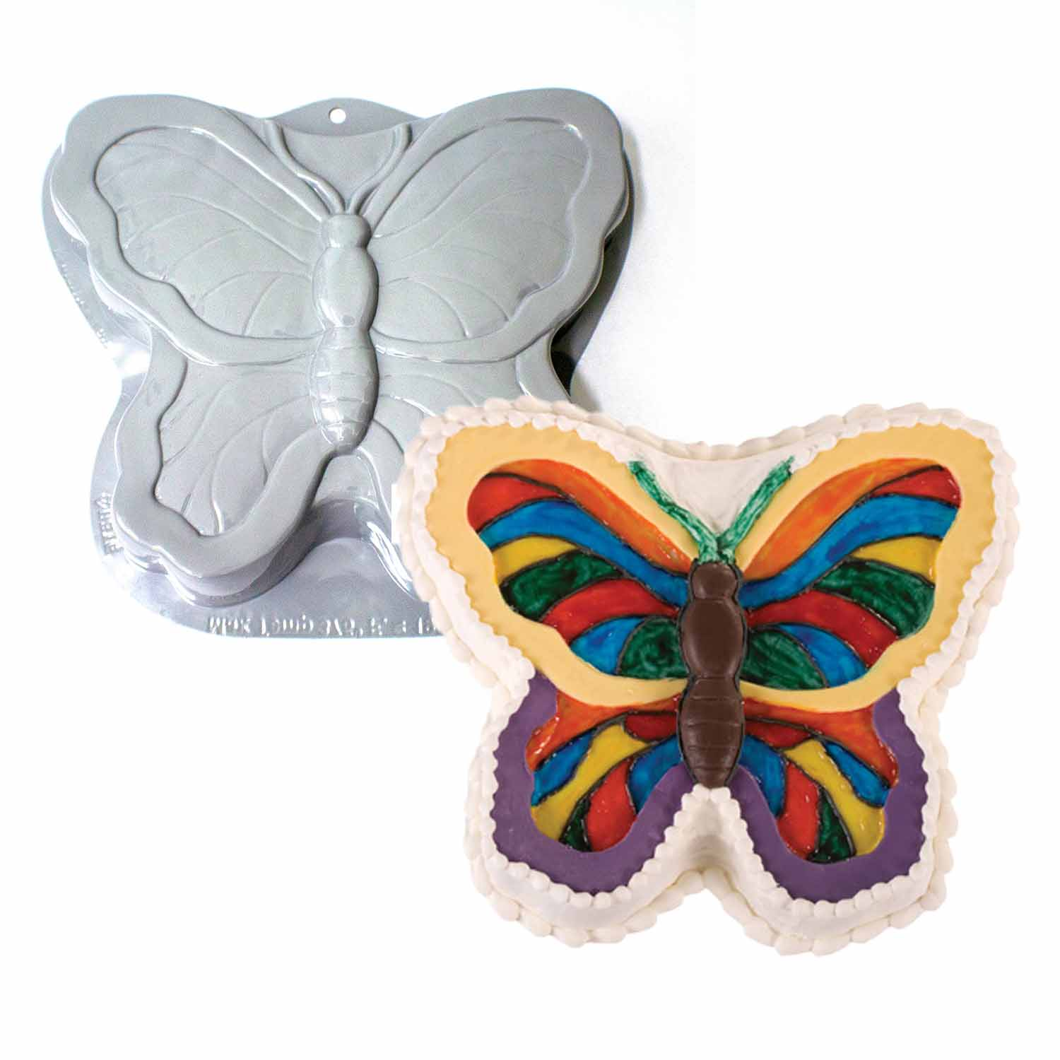 Butterfly Pantastic Plastic Cake Pan 49 8123 Country