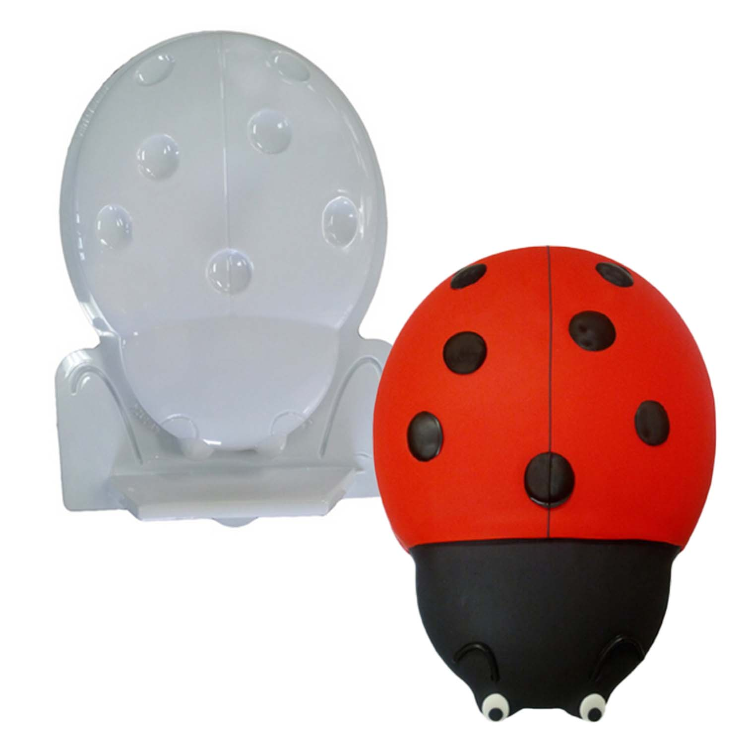 Lady Bug Pantastic Plastic Cake Pan
