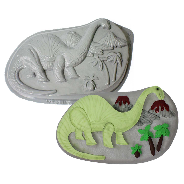 Brontosaurus Pantastic Plastic Cake Pan