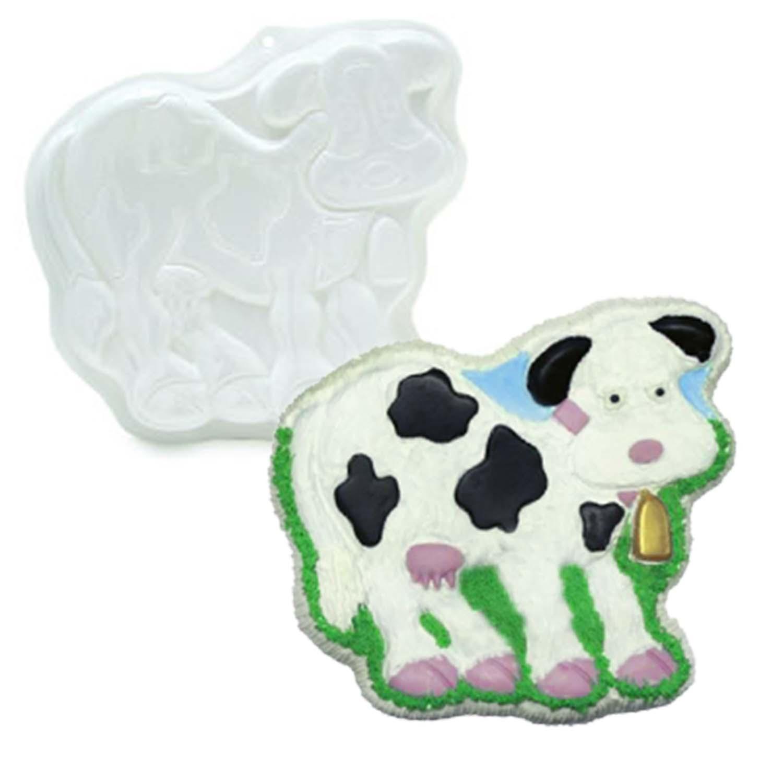 Cow Pantastic Plastic Cake Pan