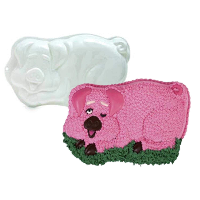 Pig Pantastic Plastic Cake Pan