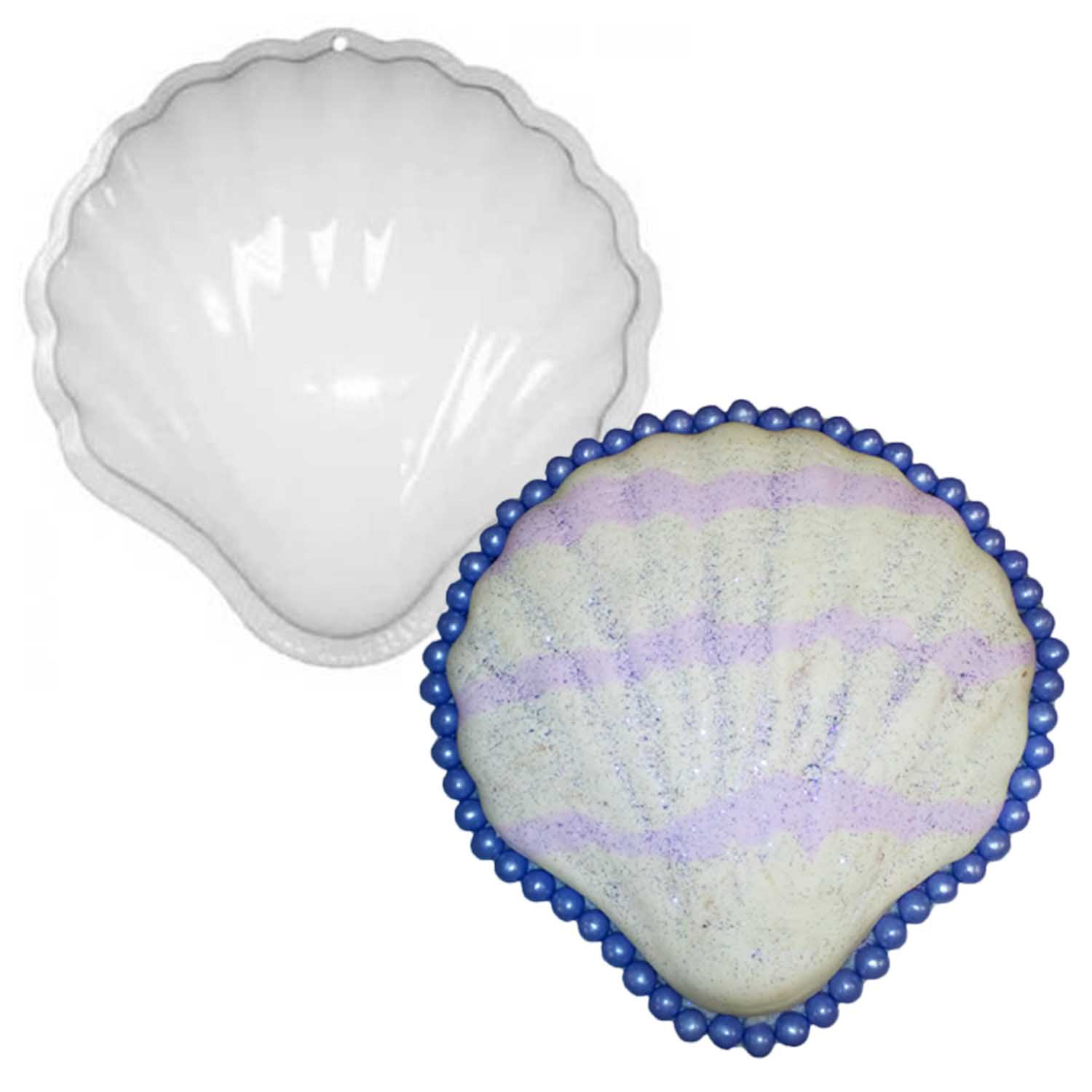 Clam Shell Pantastic Plastic Cake Pan